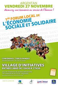 Forum de l'Economie Sociale et Solidaire - Argentan - 27 novembre 2009