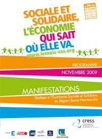 Programme du Mois de l'ESS 2009 en Basse-Normandie