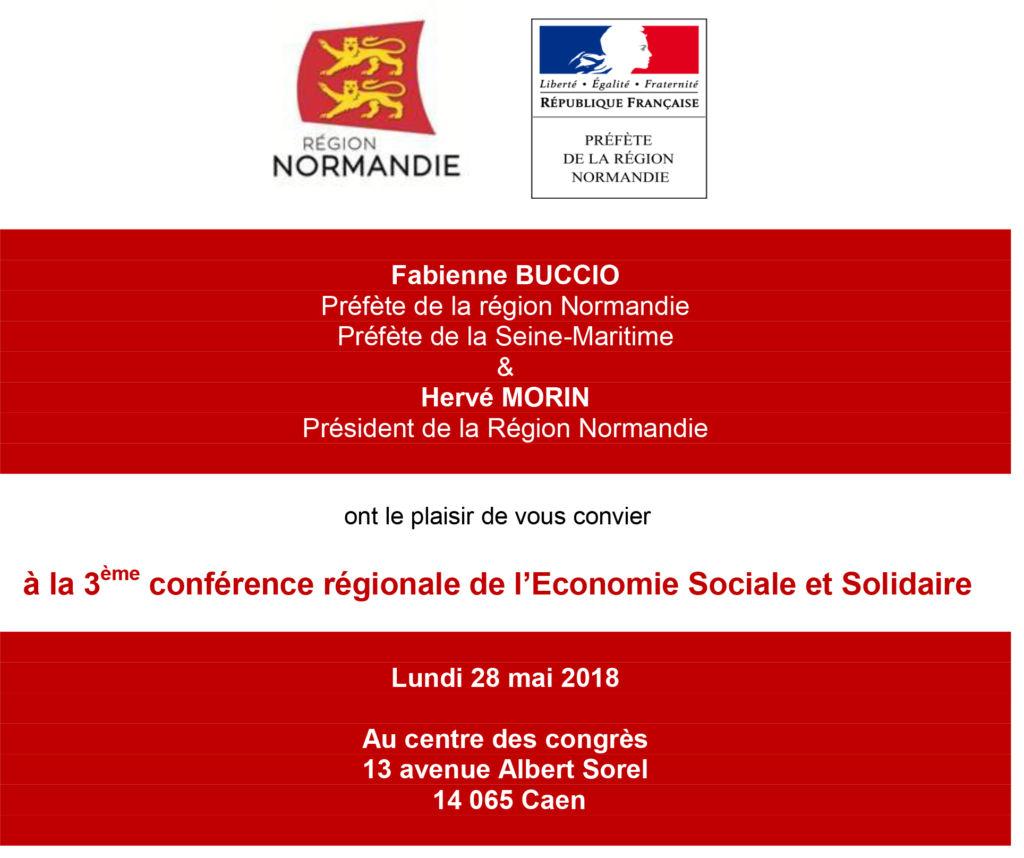 Conf rence r gionale de l ess 28 mai 2018 au centre des - Chambre regionale de l economie sociale et solidaire ...