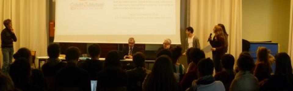 photo conférence Le Verrier