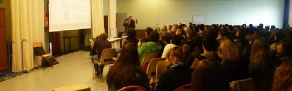 photo conférence SCOP Le Verrier