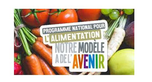 Appel à projets régional Programme National pour l'Alimentation