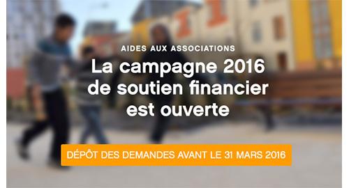 Politique de la ville : la subvention des associations 2016