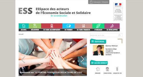ESSpace : un nouveau portail web pour l'ESS