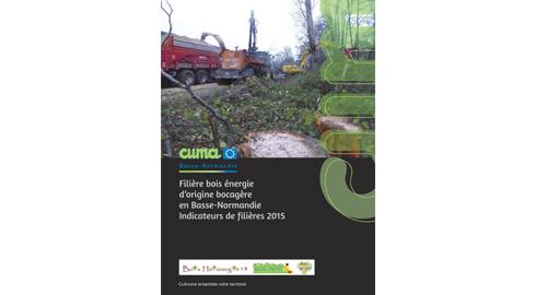 Filière bois énergie locales en Basse-Normandie : les indicateurs 2015