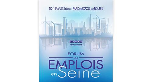 La CRESS, l'UDES et l'UNIFED au Forum Emplois en Seine les 10 et 11 mars à Rouen