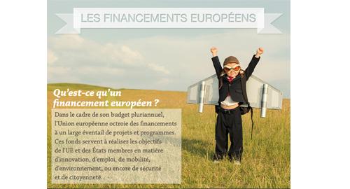 Un guide sur les financements européens