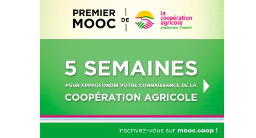 Premier MOOC de la Coopération Agricole à partir du 4 avril