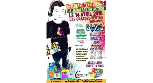 Rencontre territoriale la Jeunesse en action – 14 avril – Les Grandes-Ventes