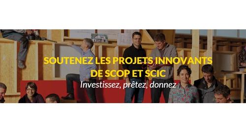 Soutenez les projets de Scop et Scic avec le site jefinanceunprojetcooperatif.fr