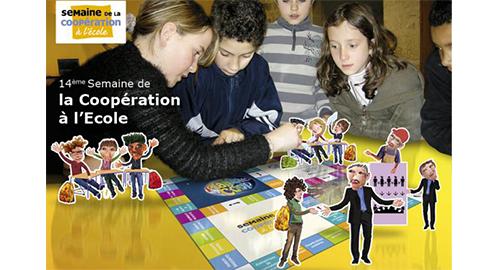 Semaine de la coopération à l'école – Du 14 au 19 mars 2016