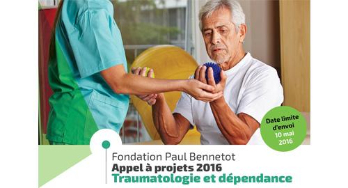 La Fondation Paul Bennetot lance son appel à projets « traumatologie et dépendance » 2016 - Jusqu'au 10 mai