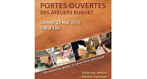 Journée Portes Ouvertes des Ateliers Buguet – 28 mai – La Chapelle Montligeon