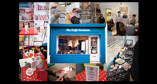 Une campagne de dons pour soutenir le Café Couture