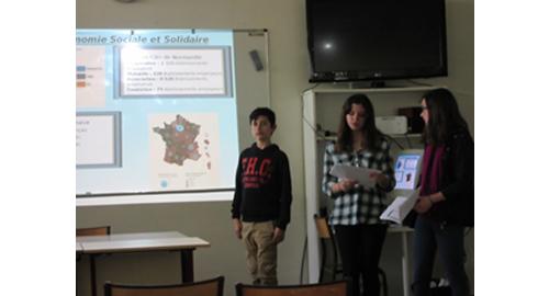 Le lycée Paul Cornu de Lisieux à l'heure de l'ESS