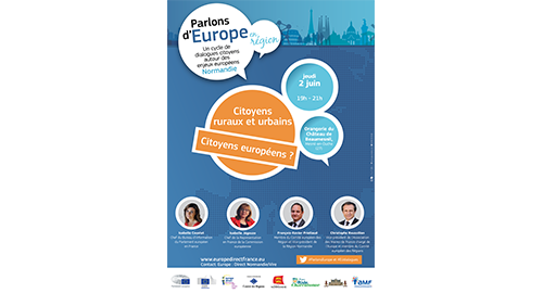 Parlons d'Europe en région – 2 juin – Mesnil-en-Ouche