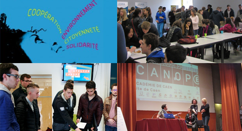350 lycéens et apprentis bas-normands sensibilisés à l'ESS cette année !