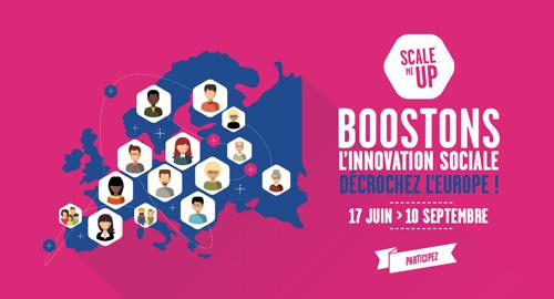 Appel à projets « Scale me up – Boostons l'innovation sociale – Décrochez l'Europe » – jusqu'au 10 septembre