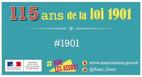 La loi 1901 a 115 ans