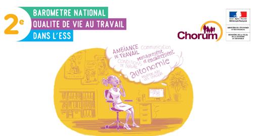 Qualité de Vie au Travail dans l'ESS : participez à la 2e édition du baromètre !