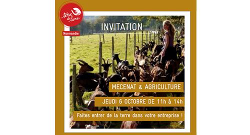 1ères Rencontres du mécénat pour l'agriculture – 6 octobre – Rouen