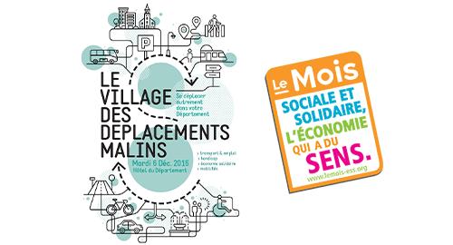 Village des déplacements malins et clôture du Mois de l'ESS - 6 décembre - Rouen