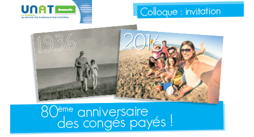 Colloque : 80ème anniversaire des congés payés - 24 novembre - Mondeville