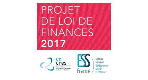 Inquiétudes de l'ESS sur le projet de loi de finance 2017