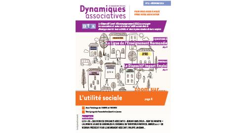 11e numéro de Dynamiques associatives : l'utilité sociale