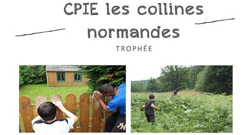 CPIE Les collines normandes, lauréat du Trophée de l'initiative en économie sociale