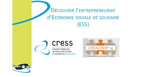 La CRESS Normandie au Salon Régional de la création d'entreprise