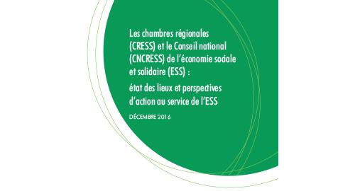 L'Inspection générale des finances a remis son rapport sur l'action des CRESS et du CNCRESS
