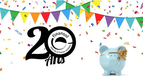 Le label Finansol fête ses 20 ans !