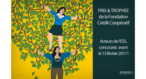 """Dernières heures pour candidater aux """"Prix et Trophée de l'Initiative en économie sociale 2017"""" jusqu'au 13 février"""
