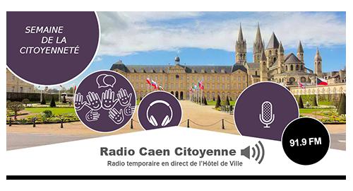 Semaine de la citoyenneté à Caen : 6 jours de direct avec Zones d'Ondes - du 23 au 28 janvier