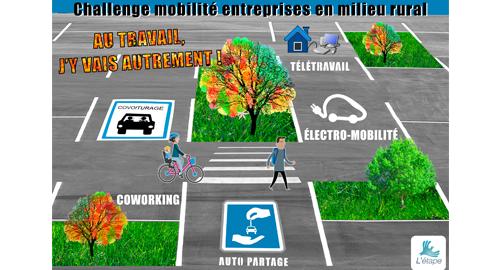 Entreprises en milieu rural, participez au Challenge mobilité !