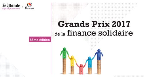 8e édition des Grands Prix de la finance solidaire jusqu'au 18 mai