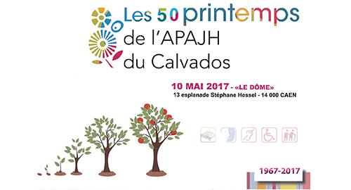 Les 50 printemps de l'APAJH du Calvados – 10 mai – Caen