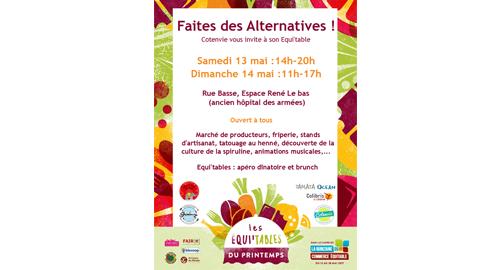 Faites des alternatives – 13 et 14 mai – Cherbourg-en-Cotentin