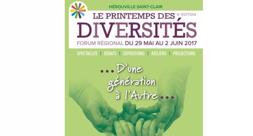 Le Printemps des diversités - Du 29 mai au 2 juin - Hérouville-Saint-Clair