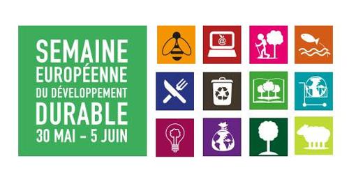 Semaine européenne du développement durable - Du 30 mai au 05 juin