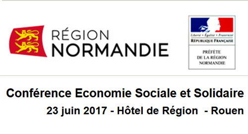2ème conférence régionale de l'Économie Sociale et Solidaire - 23 juin - Rouen