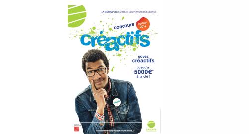 9e édition du concours Créactifs jusqu'au 15 septembre