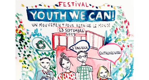 Festival Youth We Can! – 23 septembre – Paris