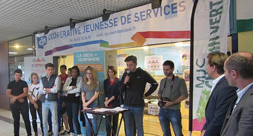 La 1ère Coopérative Jeunesse de services sur le territoire de Caen la Mer est lancée, participez au projet !
