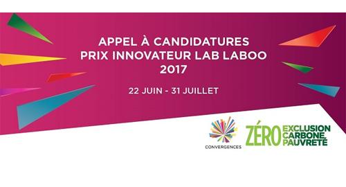 Prix Innovateur Lab Laboo jusqu'au 31 juillet