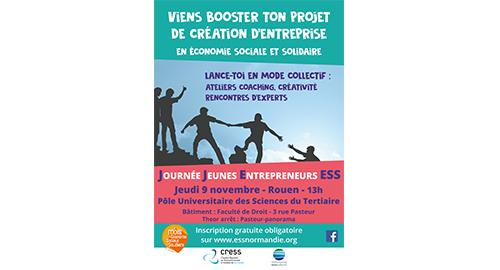 Journée Jeunes Entrepreneurs ESS - 9 novembre - Rouen