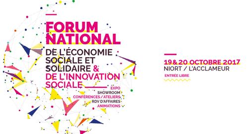 Forum national de l'ESS et de l'innovation sociale - 19 octobre - Niort