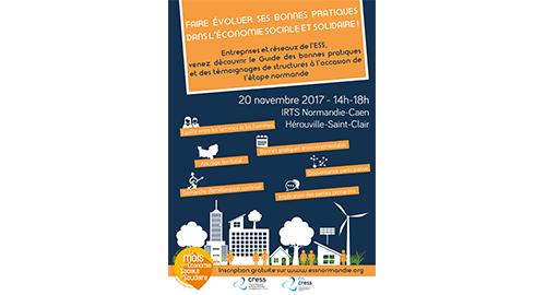 Faire évoluer ses bonnes pratiques dans l'ESS - 20 novembre - Hérouville-Saint-Clair