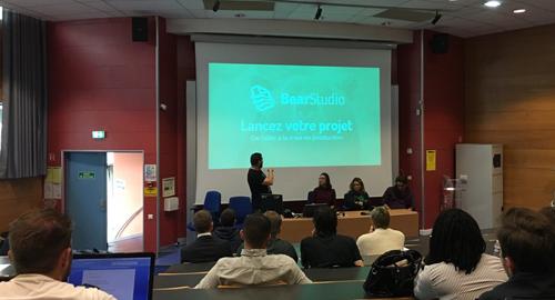 Forum étudiant sur la création d'entreprise à Rouen